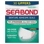 Sea-Bond Denture Adhesive Wafers, Uppers, Fresh Mint