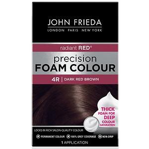 John Frieda Permanent Precision Foam Colour 4r Radiant