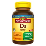 Nature Made Vitamin D3 1000 IU, Tablets- 300 ea