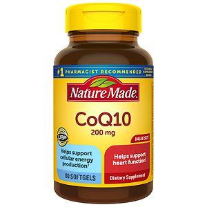 Nature Made CoQ10, 200mg, Liquid Softgels, 80 ea