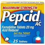 Pepcid AC Maximum Strength Acid Reducer, Tablets