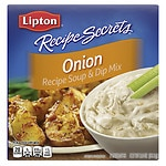 Lipton Recipe Secrets Soup Mix,, Onion, 2 pk