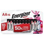 Energizer Max Alkaline Batteries, AA