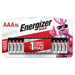 Energizer Max Alkaline Batteries, AAA