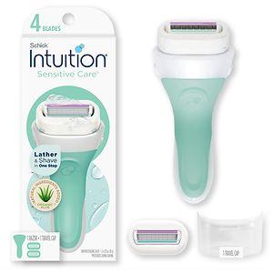 Schick Intuition Naturals Sensitive Care Razor- 1 ea