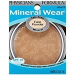 Physicians Formula Mineral Wear Powder Compact, Buff Beige 2797