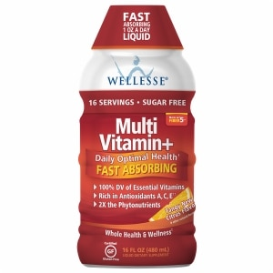 Wellesse Multivitamin, Citrus