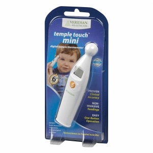 Veridian Healthcare 6 Second Temple Touch Mini Digital Thermometer- 1 ea