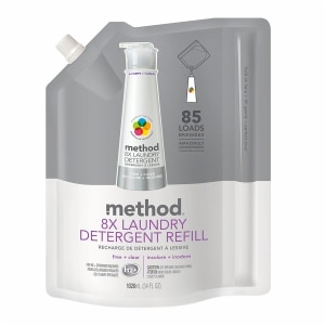 method Laundry Detergent Refill, 85 Loads, Free + Clear