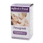 My Brest Friend Fenugreek, Vegetarian Capsules- 100 ea