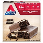 Atkins Advantage Meal Bars, 5 pk, Cookies n' Creme- 1.7 oz