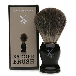 Van Der Hagen Pure Badger Shave Brush- 1 ea