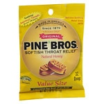 Pine Bros. Softish Throat Drops Value Pack, Natural Honey