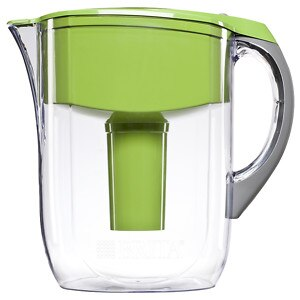 Brita Grand Water Filter Pitcher, Green, 10 Cups- 1 ea