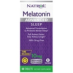 Natrol Advanced Sleep Melatonin, 10mg, Tablets- 60 ea