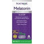 Natrol Advanced Sleep Melatonin, 10mg, Tablets- 60 ea