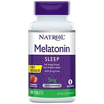 Natrol Melatonin, 5mg, Tablets, Strawberry