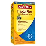 Nature Made Triple Flex with Vitamin D3, Caplets