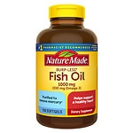 Nature Made Burp-Less Fish Oil, 1000mg, Liquid Softgels