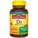 Nature Made Vitamin D3 2000 IU, Tablets
