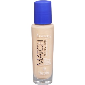 Rimmel Match Perfection Liquid Foundation SPF 18, Ivory- 1 fl oz
