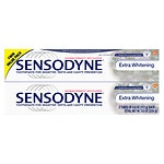 Sensodyne Extra Whitening Toothpaste for Sensitive Teeth & Cavity