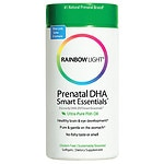 Rainbow Light Prenatal DHA Smart Essentials Ultra-Pure Fish Oil, Softgels- 60 ea