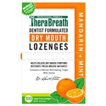 TheraBreath Mouth Wetting Lozenges, Mandarin Mint