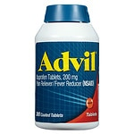 Advil Ibuprofen Coated Tablets, 200mg