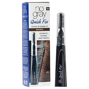 No Gray Quick Fix Instant Touch-Up for Gray Roots, Medium Brown- .5 oz