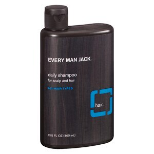 Every Man Jack Daily Shampoo, Signature Mint- 13.5 oz