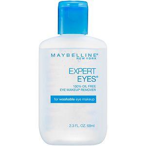 Maybelline Expert Eyes 100% Oil Free Eye Make-Up Remover- 2.3 fl oz