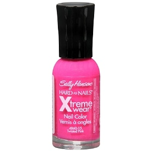 Sally Hansen Hard as Nails Xtreme Wear Nail Color, Twisted Pink