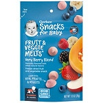 Gerber Graduates Fruit & Veggie Melts, Very Berry Blend