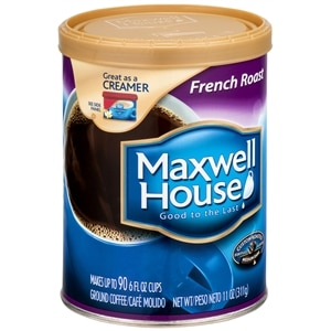 Maxwell House Ground Coffee, French Roast