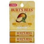 Burt's Bees 100% Natural Nourishing Lip Balm, Mango Butter
