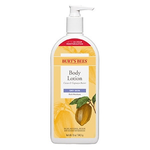 Burt's Bees Body Lotion, Cocoa & Cupuacu Butters- 12 oz