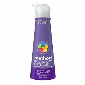 method Laundry Detergent, 50 Loads, Lavender Cedar