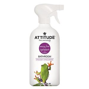 Attitude Eco-Friendly Bathroom Cleaner, Citrus Zest- 27.1 oz