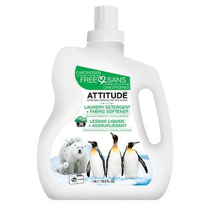 Attitude 2 in 1 Laundry Detergent, 40 Loads, Mountain Essential&nbsp;