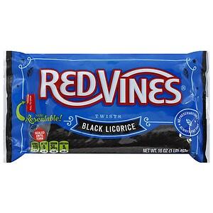 Red Vines Twists, Black Licorice