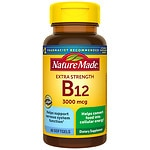 Nature Made Vitamin B-12, 3000mcg, Liquid Softgels- 60 ea