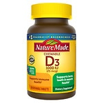 Nature Made Adult Chewable D3, 1000 IU, Chewable Tablets