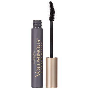 L'Oreal Paris Voluminous Curved Brush Volume Building Mascara, Black Brown