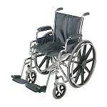 Duro-Med Wheelchair with Removable Desk Armrests