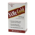 Olympian Labs SAMe Gold, 400mg, Enteric Coated Tablets- 30 ea
