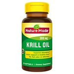 Nature Made Krill Oil, 300mg, Liquid Softgels