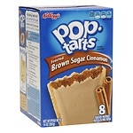 Pop Tarts Toaster Pastries, Frosted Brown Sugar Cinnamon- 8 ea