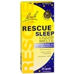 Bach Rescue Sleep Liquid Melts, Capsules- 28 ea