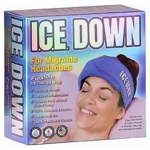 I.C.E. Down Cold Therapy Wrap, Head- 1 ea